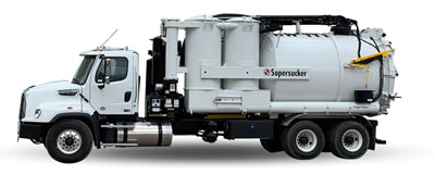 Industrial Air Moving Vacuum Trucks For Sale
